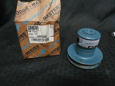 Reliance H950000 Reeves Jr. Variable Speed Pulley New Old Stock