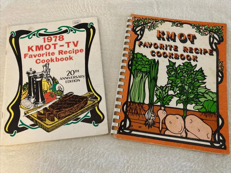 MINOT ND  KMOT-TV Favorite Recipe Cook Book NORTH DAKOTA 20th Anniversary 1978