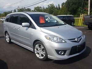 2009 Mazda Mazda5 leather sunroof 5 speed safetied GT