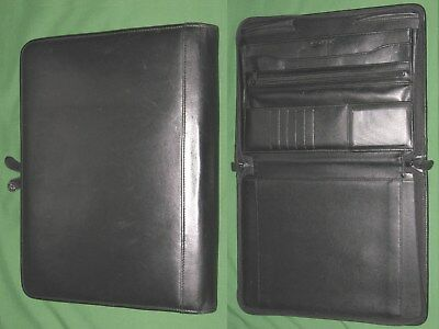 Left Handed Note Pad 8.5x11 Leather Stelco Planner Binder Franklin Covey Monarch