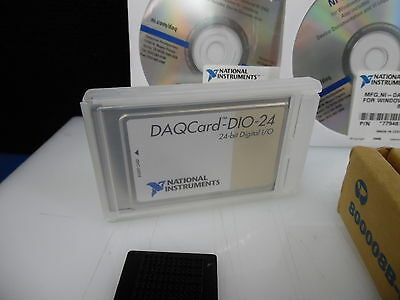 National Instruments Ni Daqcard-dio-24 24-bit Digital Io Pcmcia Card