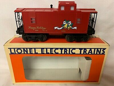 ✅LIONEL CHRISTMAS HOLIDAY LIGHTED CABOOSE 6-16547! FOR O GAUGE TRAIN SET SANTA