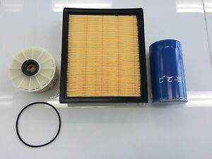Filter Kit HOLDEN Colorado Rodeo ISUZU D-Max OIL Z600 AIR A1618 (290 FUEL R2656P
