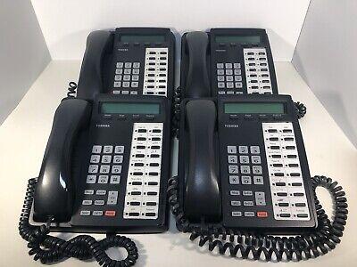 Toshiba Dkt3020-sd Digital Business Phone Set Of 4