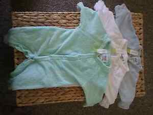 2 New born 3 piece set one-zies (freebies included) $5 per set Willmot Blacktown Area Preview
