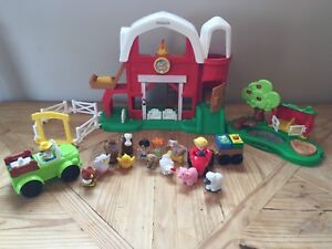 Fisher Price Little People Farm & Pond sets
