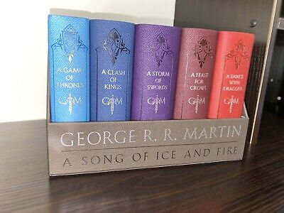 Game of Thrones Leather Book Set A Song of Ice and Fire George R.R. Martin