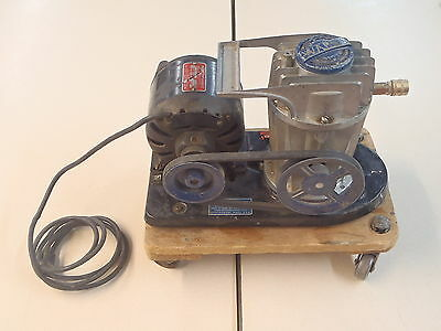 Wards Powr- Kraft Air Compressor 75-6603 115 V 60 Hz 6.1 Amps 13 Hp