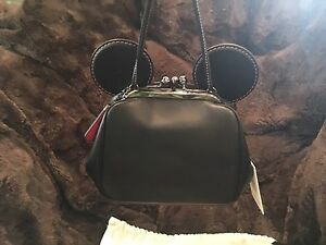 Coach Disney Kisslock Crossbody Satchel