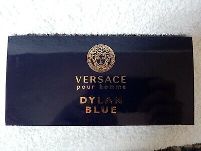 Versace pour homme DYLAN BLUE Miniatures Gift Set brand new mens travel set