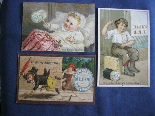 Victorian Trade Card F.W Wurzburg Clark