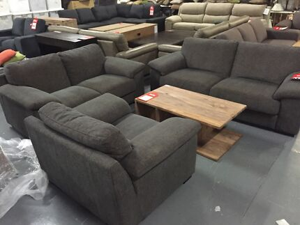 3 Piece Fabric Sofa Set - By NS Eumemmerring Casey Area Preview