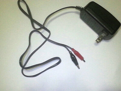 24v Dc Power Supply With Alligator Clips And Current Limiting Resistor Inline