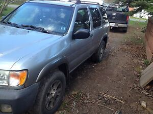 2001 Nissan Pathfinder trade or sell