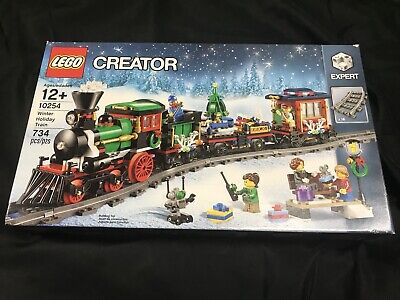 LEGO RETIRED City Creator 10254 Winter Holiday Train Christmas New in Box