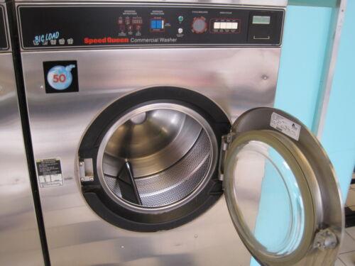 Speedqueen 50lb washer three phase (Rebuilt)