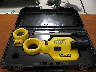 Dewalt Dwho50k Large Hammer Drilling Dust Extractor System New
