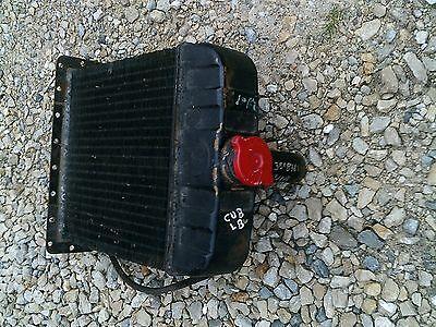 International Cub Lo Low Boy Lb Tractor Orgnal Ih Good Working Radiator Assembly