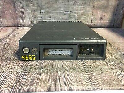 Motorola Maratrac 4250mhz 100w Mobile Low Band Vhf Radio T81xta7ta7bk