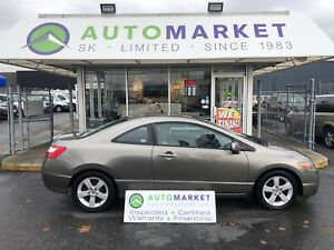 2006 Honda Civic LX Coupe 5SPD. YOU WORK/ YOU DRIVE!