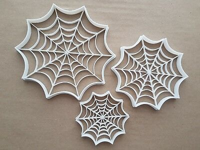 Creepy Halloween Cookies (Spider Web Insect Creepy Shape Cookie Cutter Dough Biscuit Pastry Fondant)