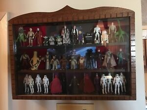 Action figure display case (Star Wars - gi joe - other)