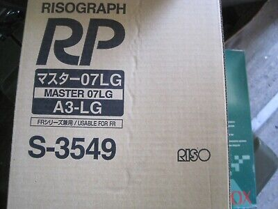 2 Master Rolls Compatible With Riso S-3549 For Risograph Fr3910 Rp310 Lot Bb008