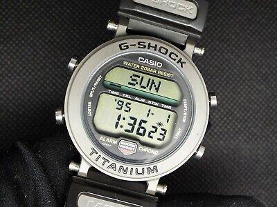 Rare CASIO Vintage Digital Watch MRG-1 1556 TITANIUM 200M G-SHOCK ALARM CHRONOG Casio Titanium Watch