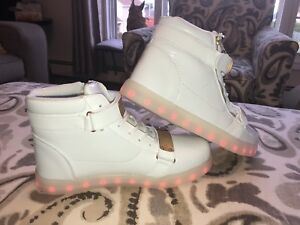 Light up brand new sneakers