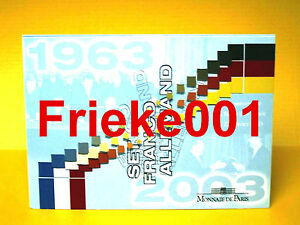 Frankrijk-Duitsland-Officiele-BU-Set-2003-40-jaar-verdrag-van-Elysee