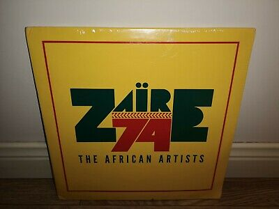 Zaire 74: The African Artists [3LP Vinyl] NEW & SEALED Tabu Ley Rochereau, Abeti