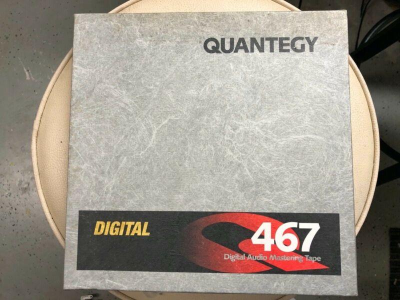"""Quantegy 467 1/2"""" Digital Audio Mastering Tape"""