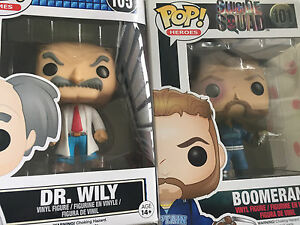 Mega man and SS funko pop vinyls Wiley Park Canterbury Area Preview
