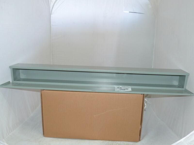 EXM Wiring Trough 6 X 6 X 60 Weatherproof N3R NEW 1300CH060660