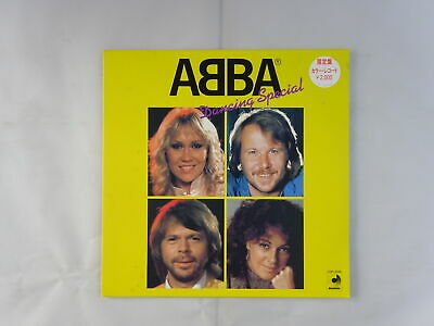 ABBA Dancing Special Discomate DSP-3026 Japan YELLOW WAX  LP