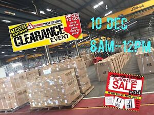 HUGE RENO CLEARANCE - 1 day only event!! Slacks Creek Logan Area Preview