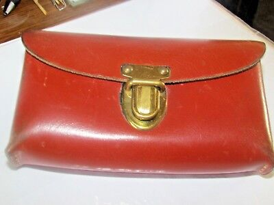 ~~BOYT LEATHER CASE~SNAPS IN FRONT AND BACK~EXCEPL COND.~~51/2LONG X 3H X11/2WD~