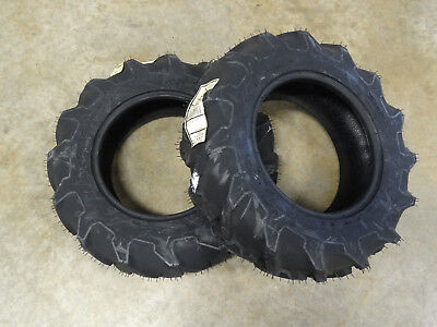Two New 6-12 Goodyear Power Torque R-1 Tractor Tires 4 Ply Tl 42p3c3