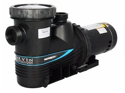 Magnum Pool Pumps - Carvin Magnum Force 1.5 HP In Ground Single Speed Swimming Pool Pump 94027115