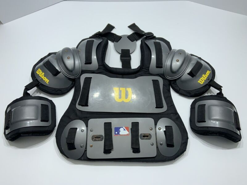 Wilson Umpire MLB Chest Protector With Arm Guards