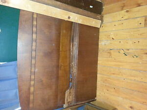 two solid wood double bed frame Kawartha Lakes Peterborough Area image 2