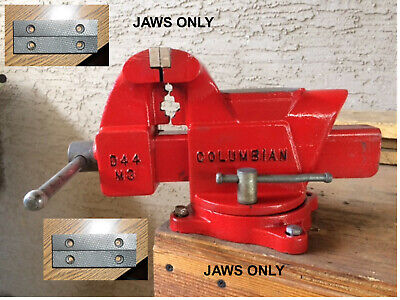 Craftsmancolumbian Vise Jaws. 4 18  Wide 2 12 C-c D44m3 Jaws Only