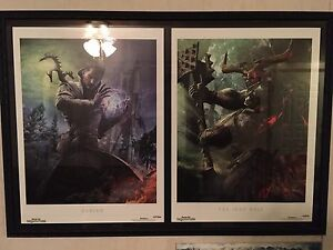 Large frames and Dragon Age Inquisition Posters