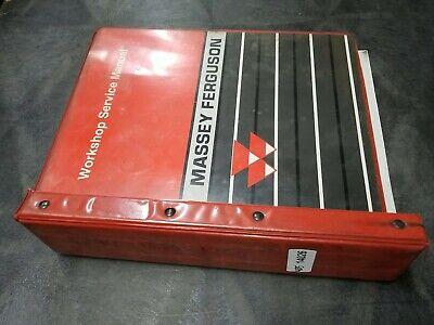 Massey Ferguson 124012501260 Tractor Service Manual