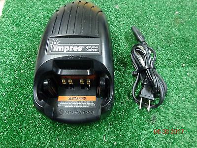 Motorola Wpln4114ar Impres Charger With Cord Xts5000 Xts3000 Xts2500 Xts1500 3.4
