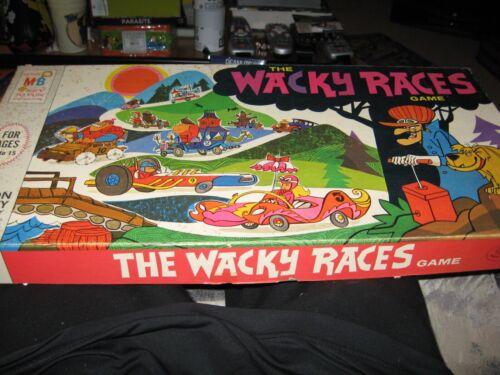 1969 rare Hanna Barbera Wacky Races game very nice shape
