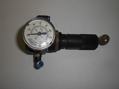 Festo Lrs-18-s-b Pressure Regulator 14978 With Keyed Lockable Head With Gauge