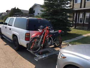 Double motorcycle carrier