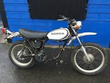 HONDA XL 250 MOTOR SPORT 1972 WRECK OR RESTORE St Agnes Tea Tree Gully Area Preview