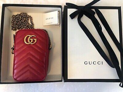 New in Box Gucci GG Marmont Mini Bag